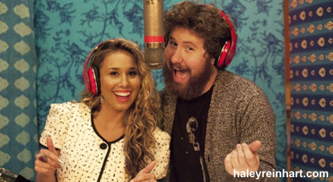 Haley Reinhart and Casey Abrams