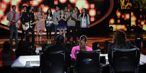 American Idol Results - 2012 Top 10 elimination show