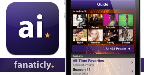 Fanaticly - American Idol app