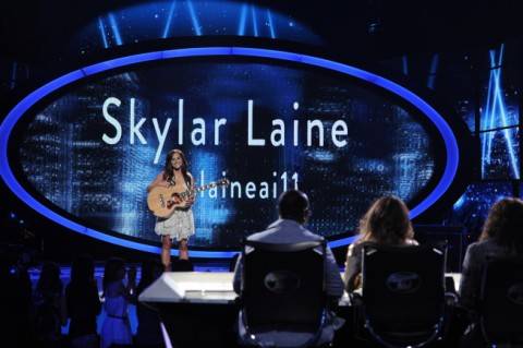 American Idol 2012 Skylar Laine Top 6