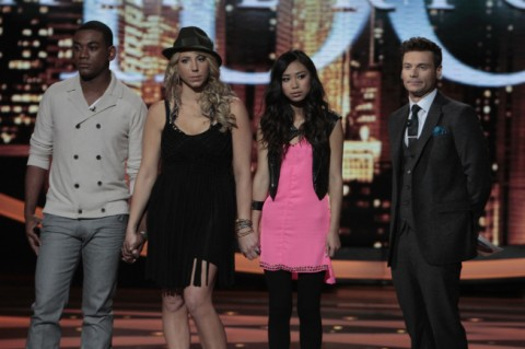 American Idol 2012 Judges save Jessica Sanchez