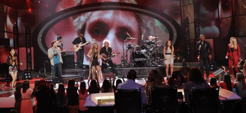American Idol 2012 Top 6 elimination