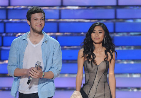 American Idol 2012 finale Jessica and Phillip