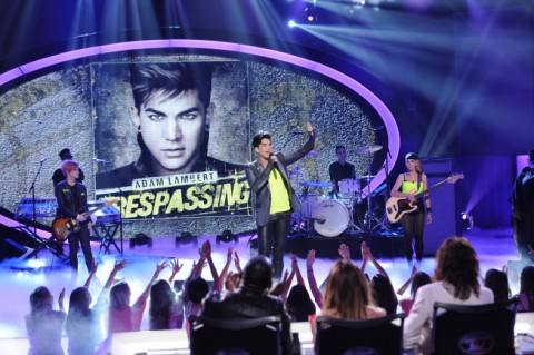 Adam Lambert on American Idol 2012