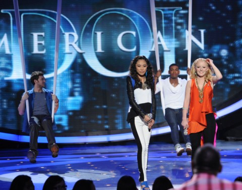 American Idol 2012 Top 4 performances