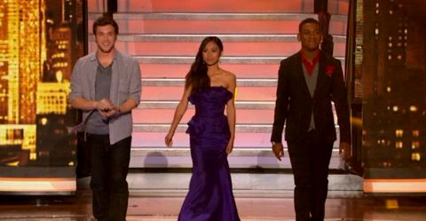 American Idol 2012 Top 3 results