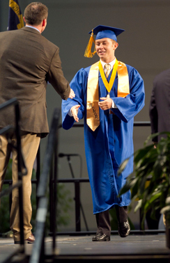 Scotty McCreery Graduation