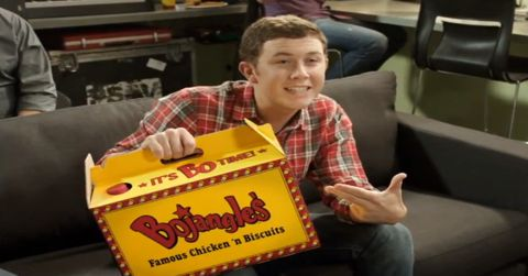 Scotty McCreery Bojangles commercial