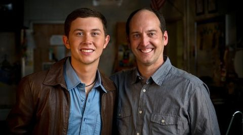 Scotty McCreery and Todd Cassetty