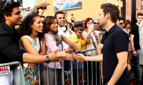 Ryan Seacrest at American Idol auditions