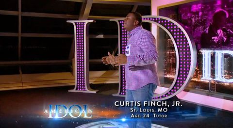 Curtis Finch Jr audition on American Idol