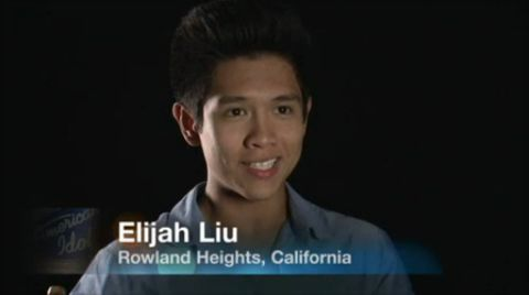 Elijah Liu on American Idol