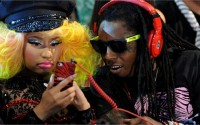 Nicki and lil wayne american idol