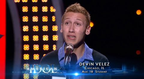 Devin Velez on American Idol 2013