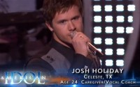 Josh Holiday on American Idol 2013