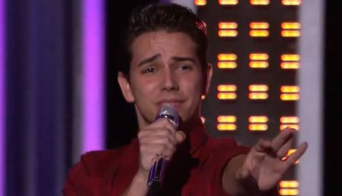 Lazaro Arbos on American Idol 2013