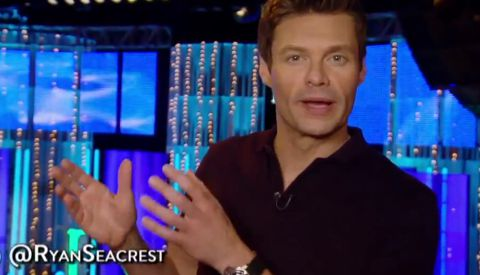 Ryan Seacrest at Hollywood Week
