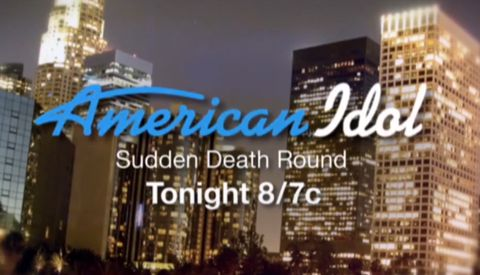 Sudden Death on American Idol 2013