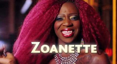 Zoanette Johnson on American Idol 2013