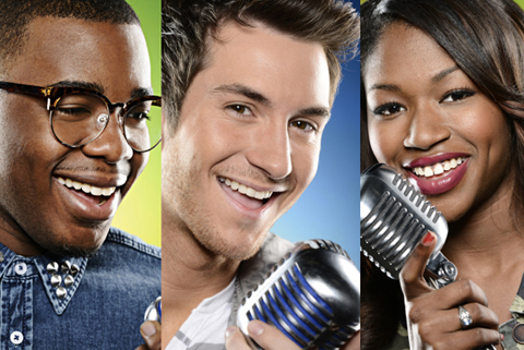 AMERICAN IDOL: Burnell Taylor. CR: Michael Becker / FOX. Copyright: FOX.