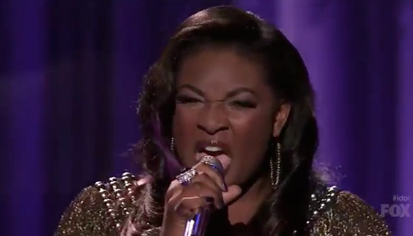 Candice Glover on American Idol