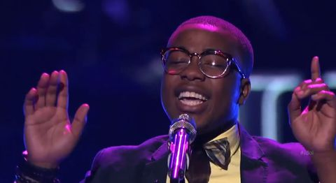 Burnell Taylor on American Idol 2013