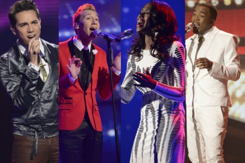 American Idol 2013 Top 8 results