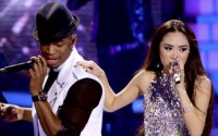 Jessica Sanchez and Ne-Yo on Idol