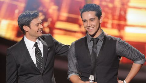 Lazaro Arbos &amp; Ryan Seacrest on American Idol