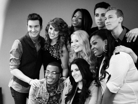 American Idol 2013 Top 9 finalists
