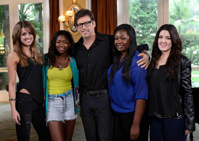 Top 4 with harry connick jr