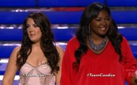 Kree Harrison &amp; Candice Glover on American Idol finale