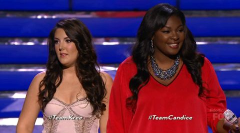 Kree Harrison & Candice Glover on American Idol finale