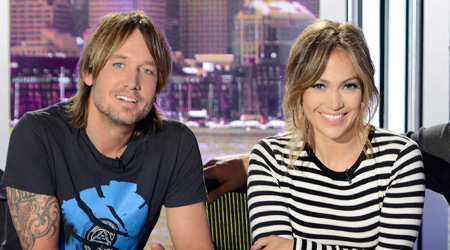 American Idol 2014 judges Keith Urban and Jennifer Lopez