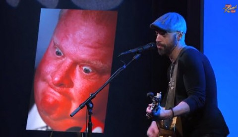 Chris Daughtry on Jimmy Kimmel Live - Source: ABC/YouTube