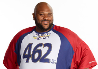Ruben Studdard on The Biggest Loser 15 - Source: NBC