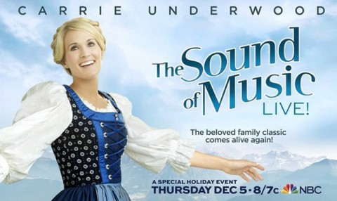 Carrie Underwood in The Sound of Music - Source: NBC