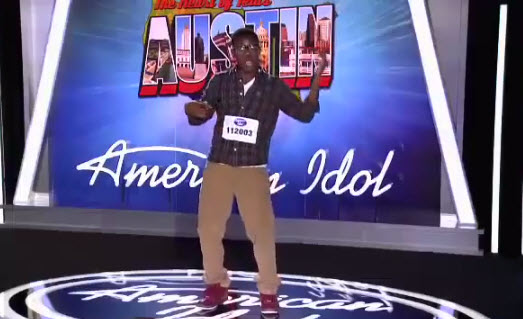 Malcolm Allen American Idol 2014 Audition - Source: FOX/YouTube