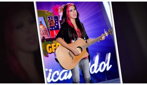 Jessica Meuse Season 13 Audition Road to Hollywood Background Website Facebook Twitter YouTube Fan Page