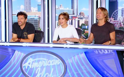 Judges at American Idol auditions