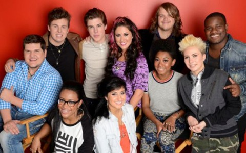 American Idol Top 10 contestants