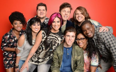 American Idol 2014's Top 9 contestants