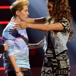 Emily Piriz and MK on American Idol