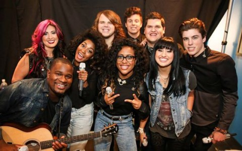 American Idol 2014 Top 9 perform