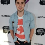 Kris Allen at the Soles4Souls charity concert, sponsored by Barefoot Wine & Bubbly