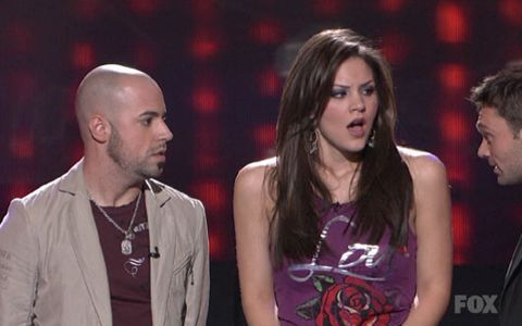 Chris Daughtry eliminated on American Idol