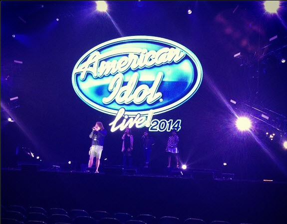 American Idol 2014 Live Tour (Instagram)
