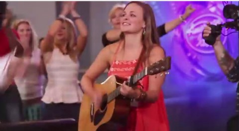 American Idol 2015 hopeful in Nashville (FOX)