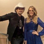 Carrie Underwood & Brad Paisley at CMA event