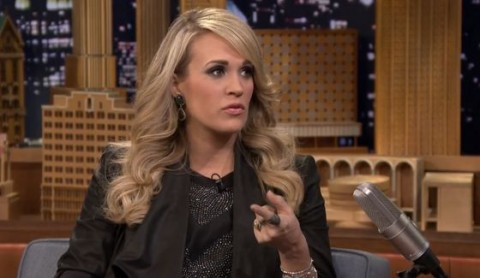 Carrie Underwood on The Tonight Show - Source: NBC